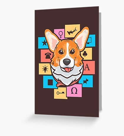 Everything is connected Greeting Card