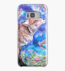Fox in Blossom Samsung Galaxy Case/Skin