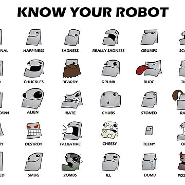 Know Your Robot - Cartoon Guide by rideawave