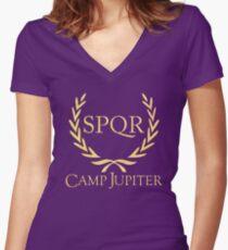 spqr original Women's Fitted V-Neck T-Shirt