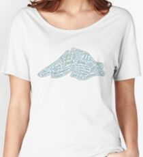 Lake Superior North Shore  Women's Relaxed Fit T-Shirt