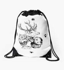 Four Friends - Mischief managed Drawstring Bag