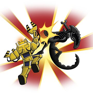 Alien vs Ripley Illustration by rideawave