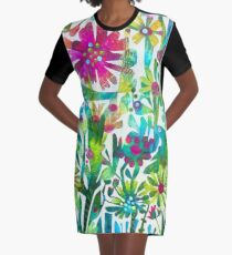 Frühling T-Shirt Kleid