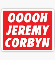 OOOOH JEREMY CORBYN Sticker