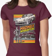 Mad Max V8 Interceptor Womens Fitted T-Shirt