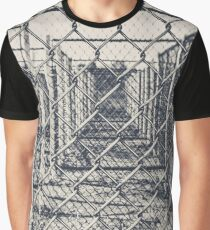 """""""Fenced In"""" Graphic T-Shirt"""