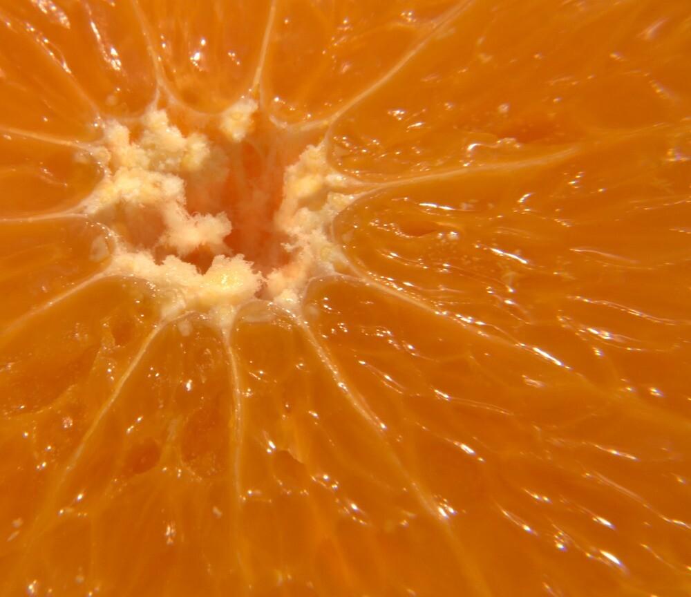 Orange sun burst by Paul Tremble