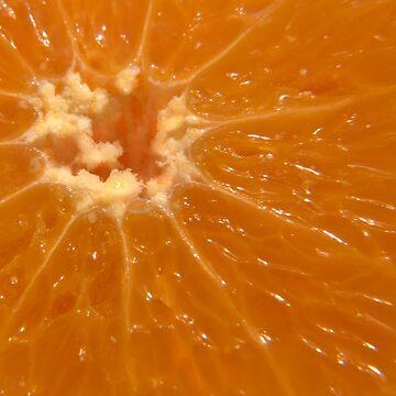 Orange sun burst by Knobrot