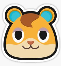 HAMLET ANIMAL CROSSING Sticker