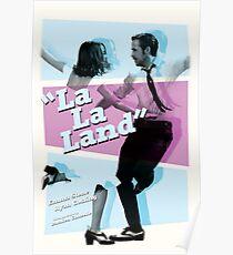 La La Land - 80s Movie Style Poster Poster
