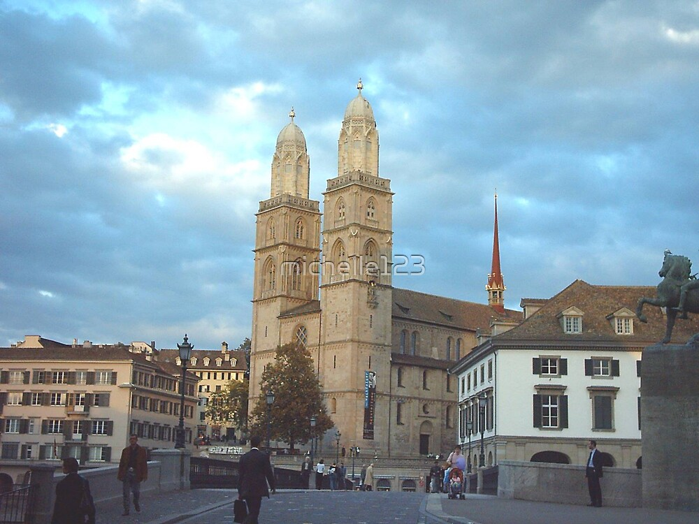 Zurich City Square by michelle123