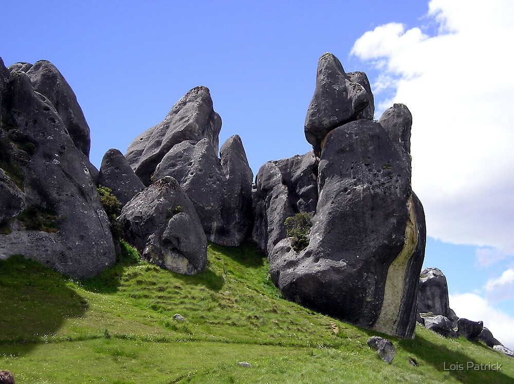 Castle Hill Rocks by Lois Patrick