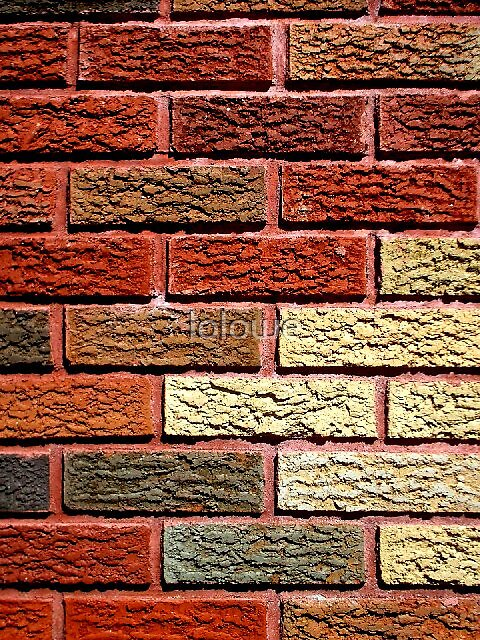 Brick Art by lolowe