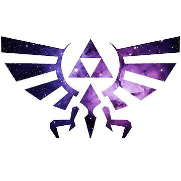 Hylian Crest: Galaxy Edition by NickVengeance