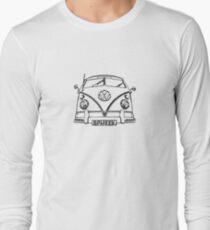 VW kombi Split T-shirt Long Sleeve T-Shirt