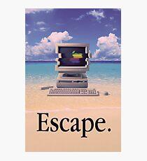 Vaporwave Macintosh Fotodruck