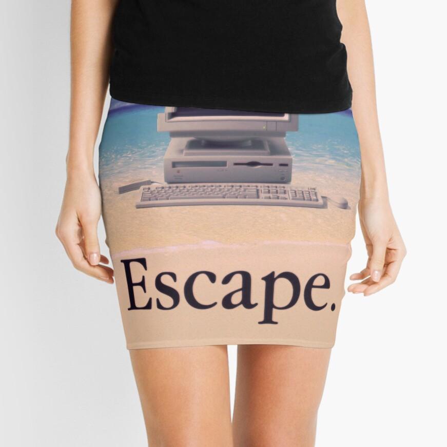 Vaporwave Macintosh Minifalda