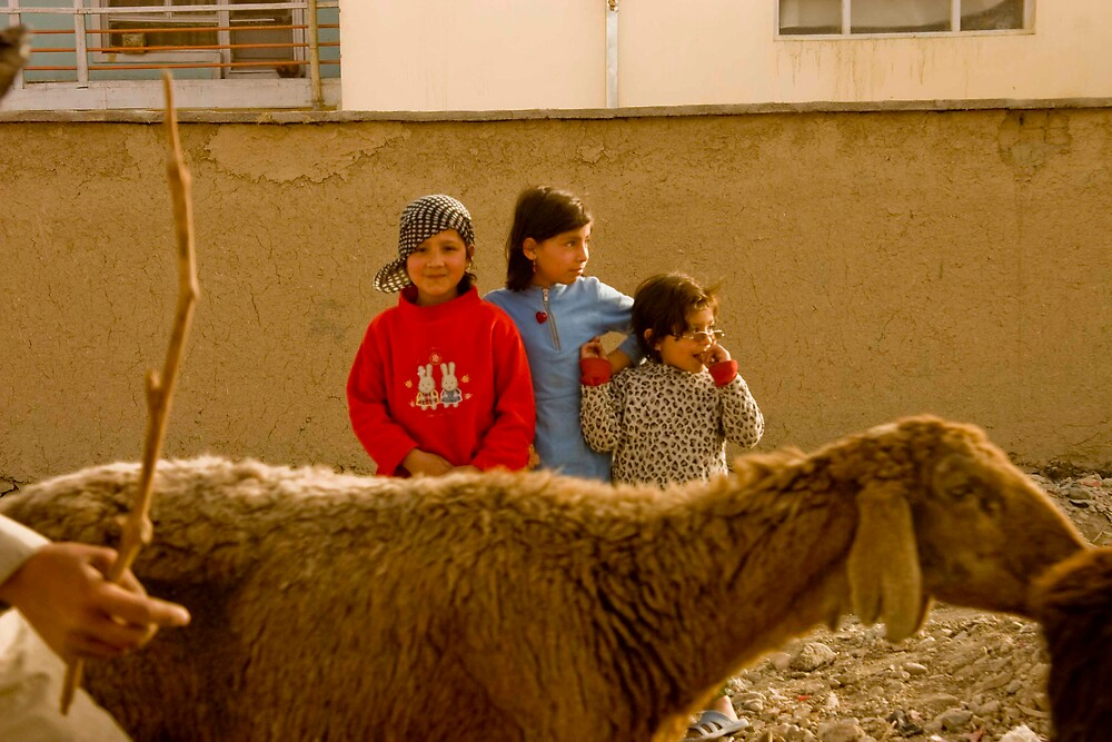girls of afghanistan by Jacob Simkin