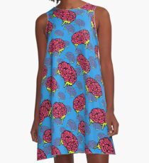 BRAINZ EVERYWHERE A-Line Dress