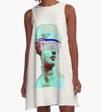 Vaporwave Blinded A-Line Dress