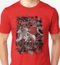 OVERTIME (QUARTER BACK) RED Unisex T-Shirt