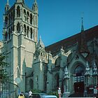 Cathedral Lausanne Switzerland 19840817 0004  by Fred Mitchell