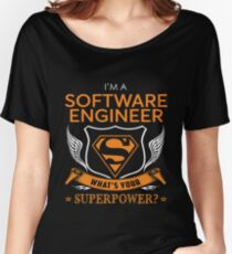 SOFTWARE ENGINEER Women's Relaxed Fit T-Shirt