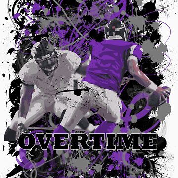 OVERTIME (QUARTER BACK)PURPLE by DionJay