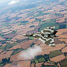 Avro Vulcan over essex by Gary Eason