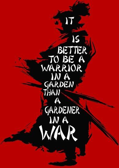 Warriors Garden Poster By Shadowblade524 Redbubble