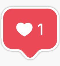 Instagram Like Sticker