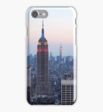 Lower Manhattan Sunset iPhone Case/Skin