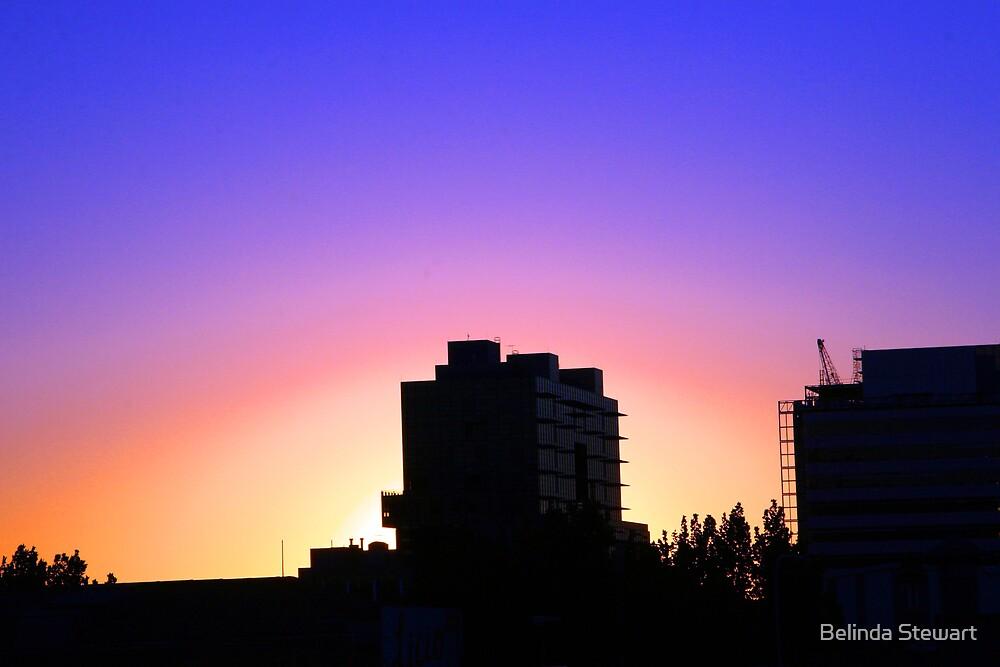 Adelaide Skyline II by Belinda Stewart