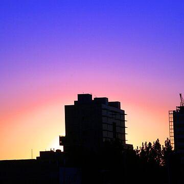 Adelaide Skyline II by studiobj