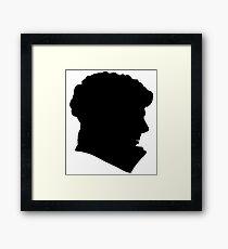 Sherlock Holmes (BBC) silhouette Framed Print