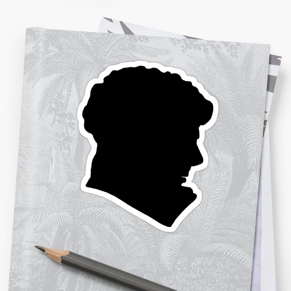 Sherlock Holmes (BBC) silhouette by Sanne Dekker