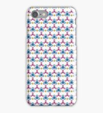 Funny Spinner Pattern 6 iPhone Case/Skin