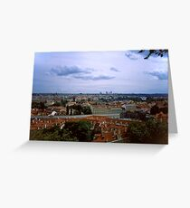Prague from the Castle 1 Greeting Card