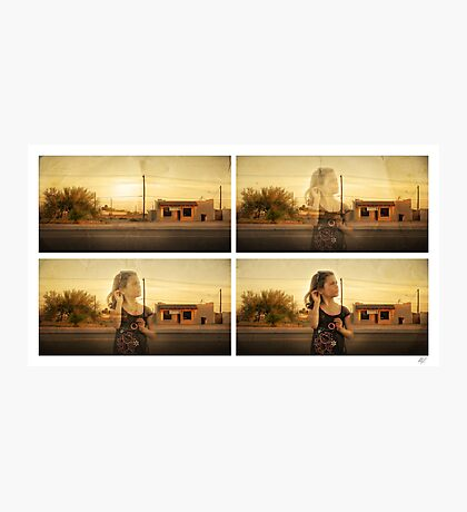 Listening to desolation Photographic Print