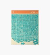 TORONTO MAP Art Board