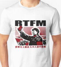 RTFM Mao Little Red Book Unisex T-Shirt