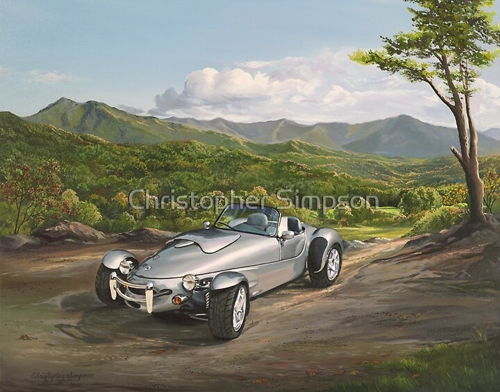 Panoz roadster, one of 4 in the world by Christopher Simpson