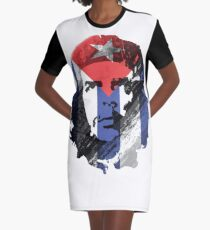 Che Guevara Graphic T-Shirt Dress