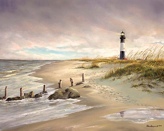 Tybee Island Light by Christopher Simpson