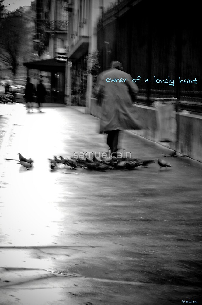 Owner of a lonely heart by samuelcain