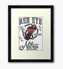 Redeye Nitro Vintage Tee Paragon MOBA Framed Print