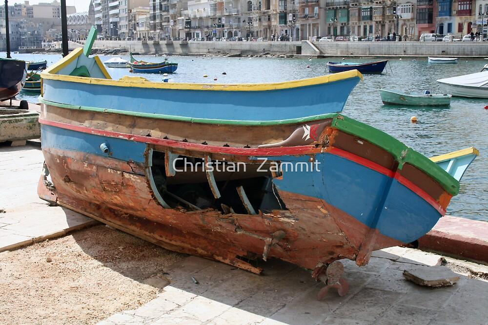 Shipwreck by Christian  Zammit