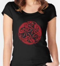Celtic Hounds Women's Fitted Scoop T-Shirt
