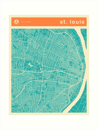 ST. LOUIS MAP\